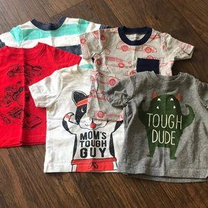 Carter's Baby Boy T-Shirt Bundle